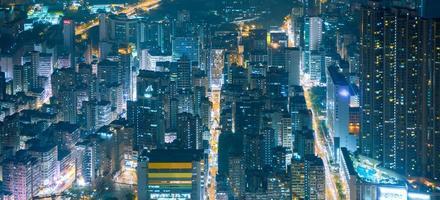 zona di residenza di Hong Kong foto
