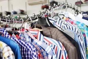 boutique di abbigliamento foto
