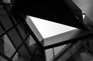 moderno edificio futuristico foto