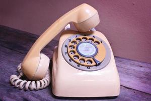 telefono retrò. foto