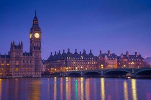 punto di riferimento di Londra Big Ben foto