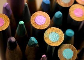 l'estremità colorata foto