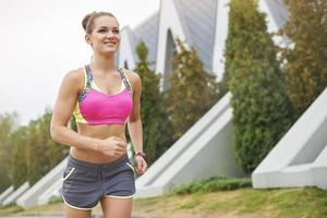 ci sono molti posti da scoprire mentre si fa jogging