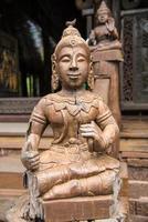 statua di angolo tailandese foto