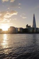 skyline di Londra foto