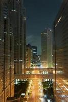 vista notturna di Tokyo