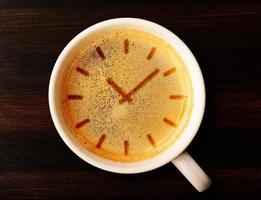 Tempo del caffè foto