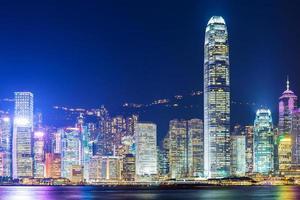 città di Hong Kong foto