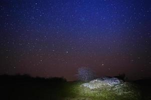 Cielo stellato foto
