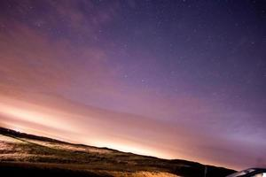 stelle sul cielo notturno, perseide pioggia di meteoriti 2015 burton dassett foto