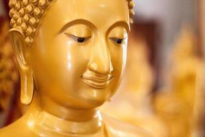 Buddha sorridente foto