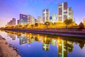 Pechino, Cina paesaggio urbano foto