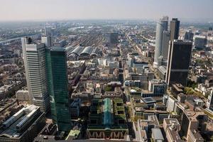 skyline di francoforte foto