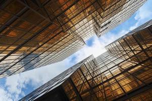 costruzione astratta foto
