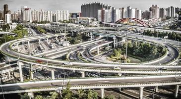 città di Shanghai foto