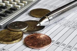 background finanziario foto