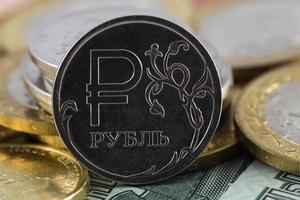 icona di rublo foto