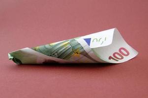 Banconota da 100 euro foto