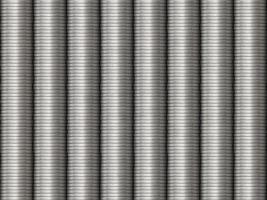 sfondo di monete d'argento impilate foto