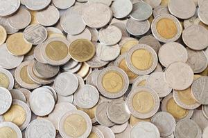valuta tailandese del bagno. foto