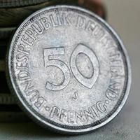 moneta tedesca foto
