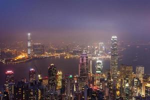 orizzonte di Hong Kong foto
