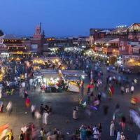 jamaa el fna a marrakesh