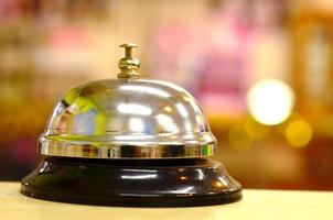 suono di campanello di servizio foto