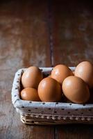 Merce nel carrello dell'uovo