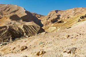deserto d'Israele foto