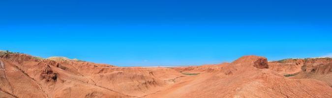 deserto argilloso foto