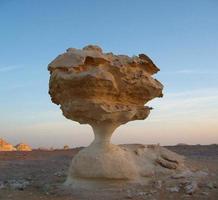 formazioni desertiche bianche foto