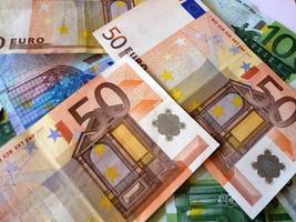 banconote in euro foto