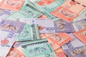 valuta della Malesia foto