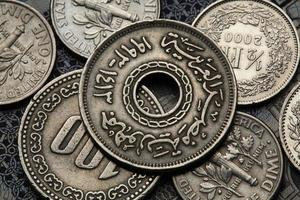 monete dell'Egitto