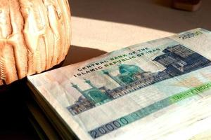valuta iraniana foto
