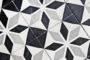 vecchie piastrelle di cemento foto