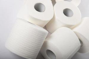 rotoli di carta igienica foto