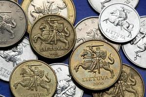 monete della Lituania