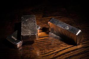 natura morta d'argento foto