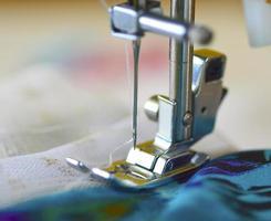 macchina da cucire. foto