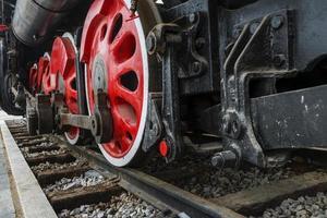 antico treno a vapore