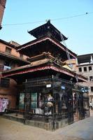 tempio o pagoda in piazza durbar patan