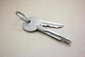 chiavi della porta foto