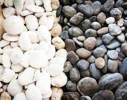 stile zen pietra bianco e nero foto