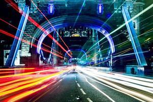 traffico di Londra foto