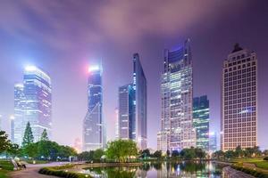 notte di Shanghai foto