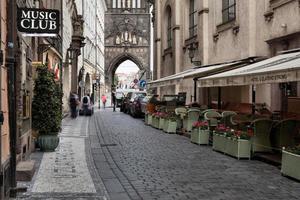 panorama di praga, repubblica ceca. foto