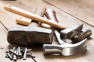 strumenti di carpenteria foto