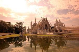 Tailandia Chiang Rai Wat Rong Khun foto